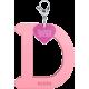 Privesok I LOVE KUKU D Baby Pink