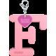Privesok I LOVE KUKU F Baby Pink5