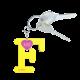 Privesok I LOVE KUKU F Yellow3
