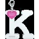Privesok I LOVE KUKU K White