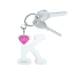Privesok I LOVE KUKU K White3
