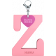 Privesok I LOVE KUKU Z Baby Pink