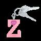 Privesok I LOVE KUKU Z Baby Pink3