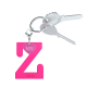 Privesok I LOVE KUKU Z Pink3