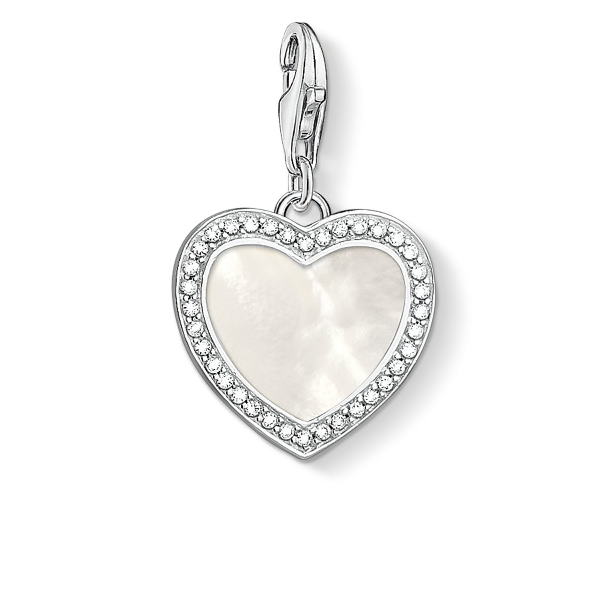 Prívesok THOMAS SABO srdce s perleťou
