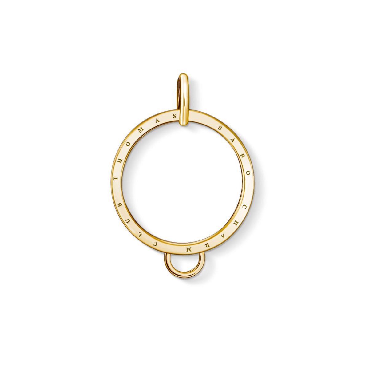 Charms držiak THOMAS SABO CIRCLE GOLD