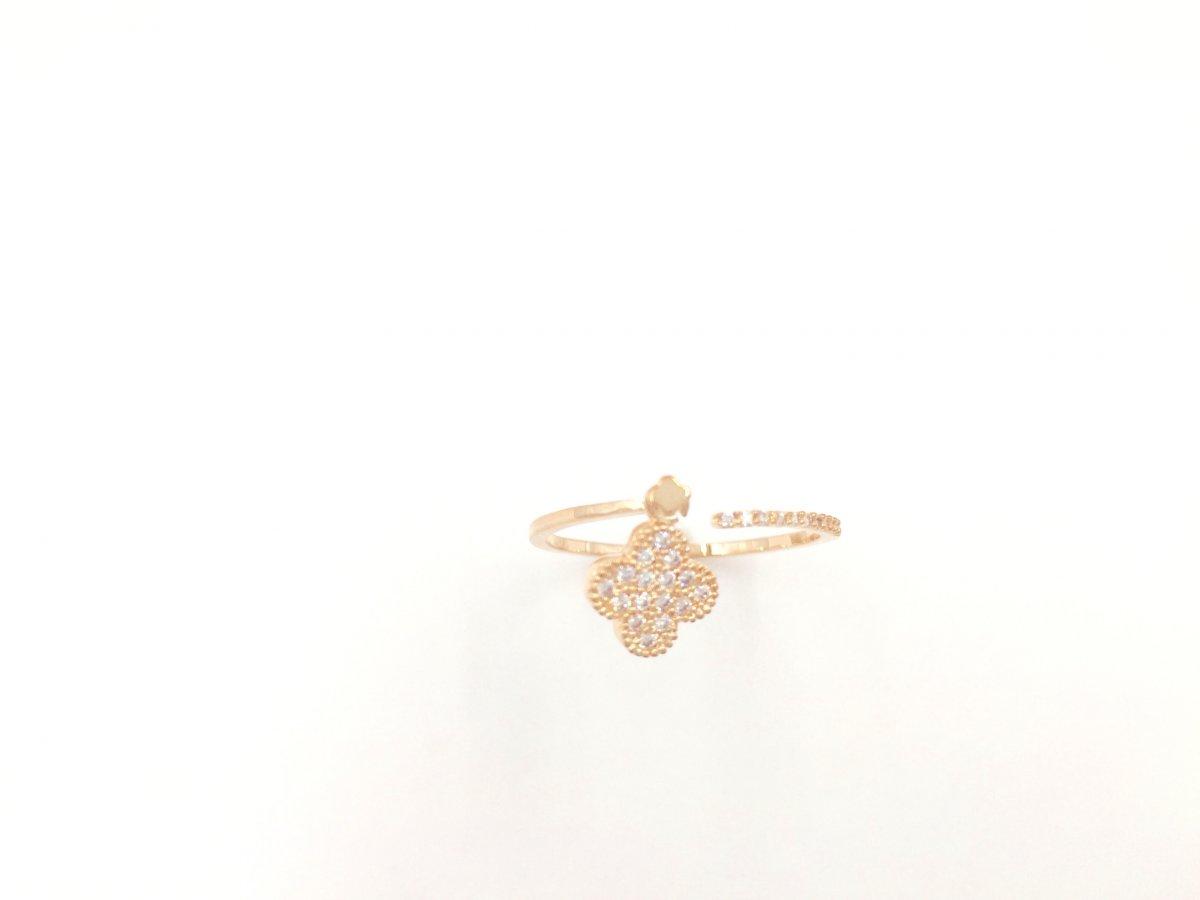 Ružový prsteň SEE BY STAR so zirkónmi