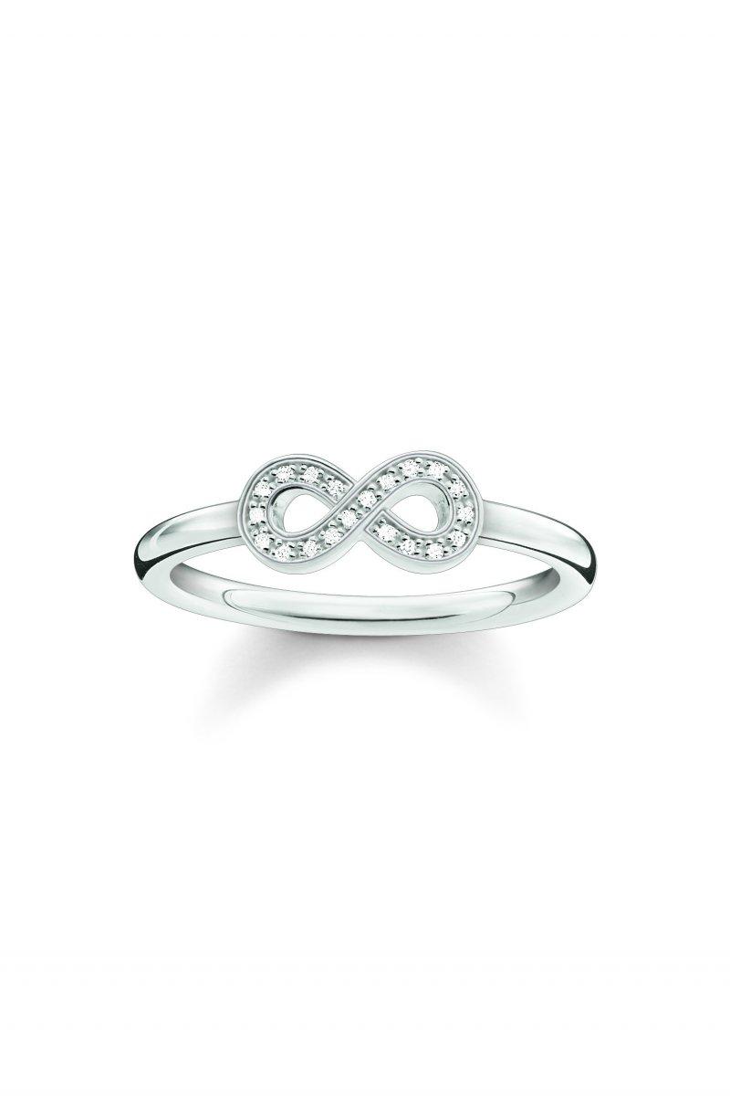 Prsteň THOMAS SABO so symbolom nekonečna