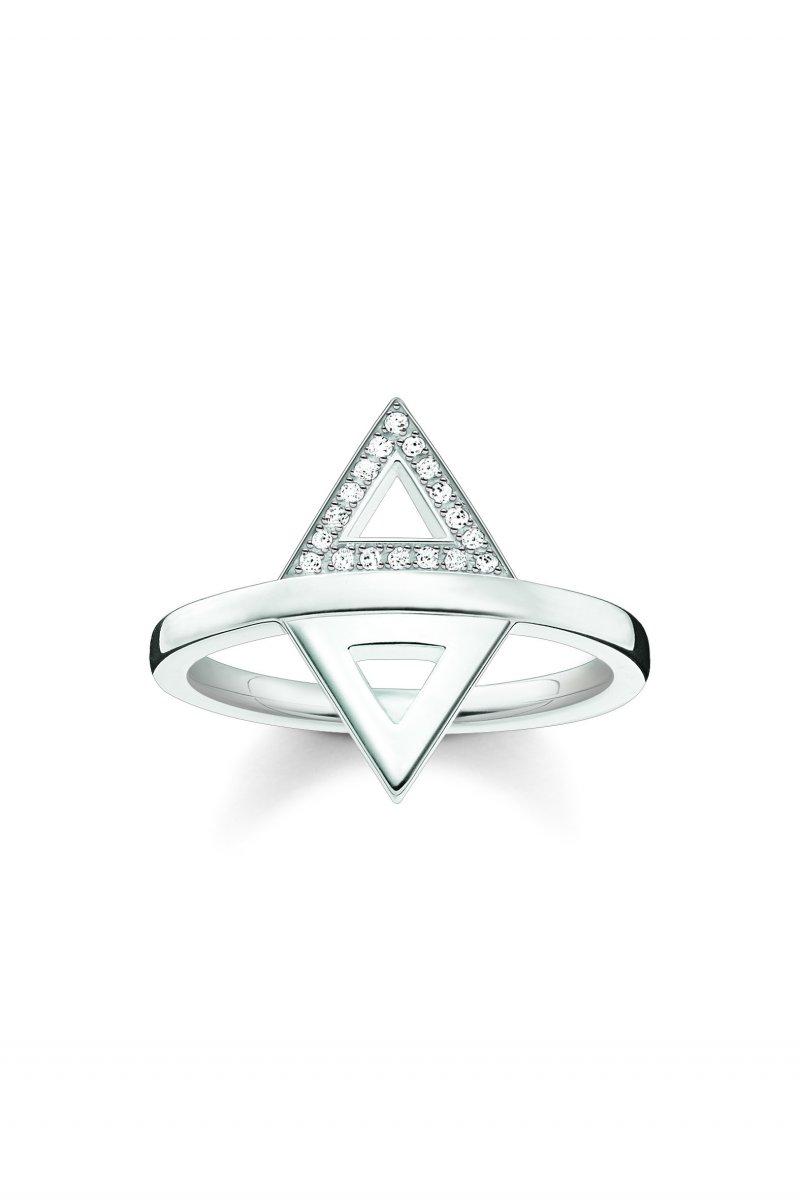 Strieborný prsteň THOMAS SABO s diamantmi