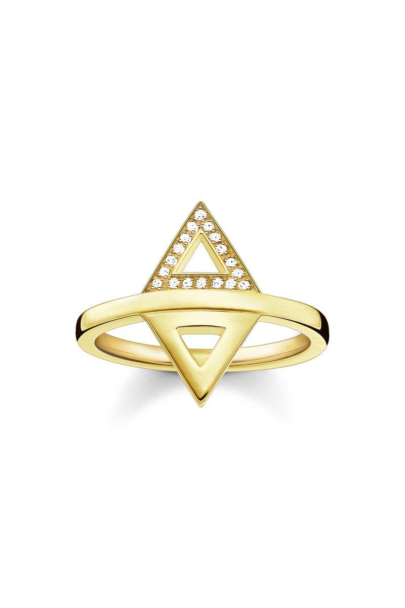 Zlatý prsteň THOMAS SABO s diamantmi