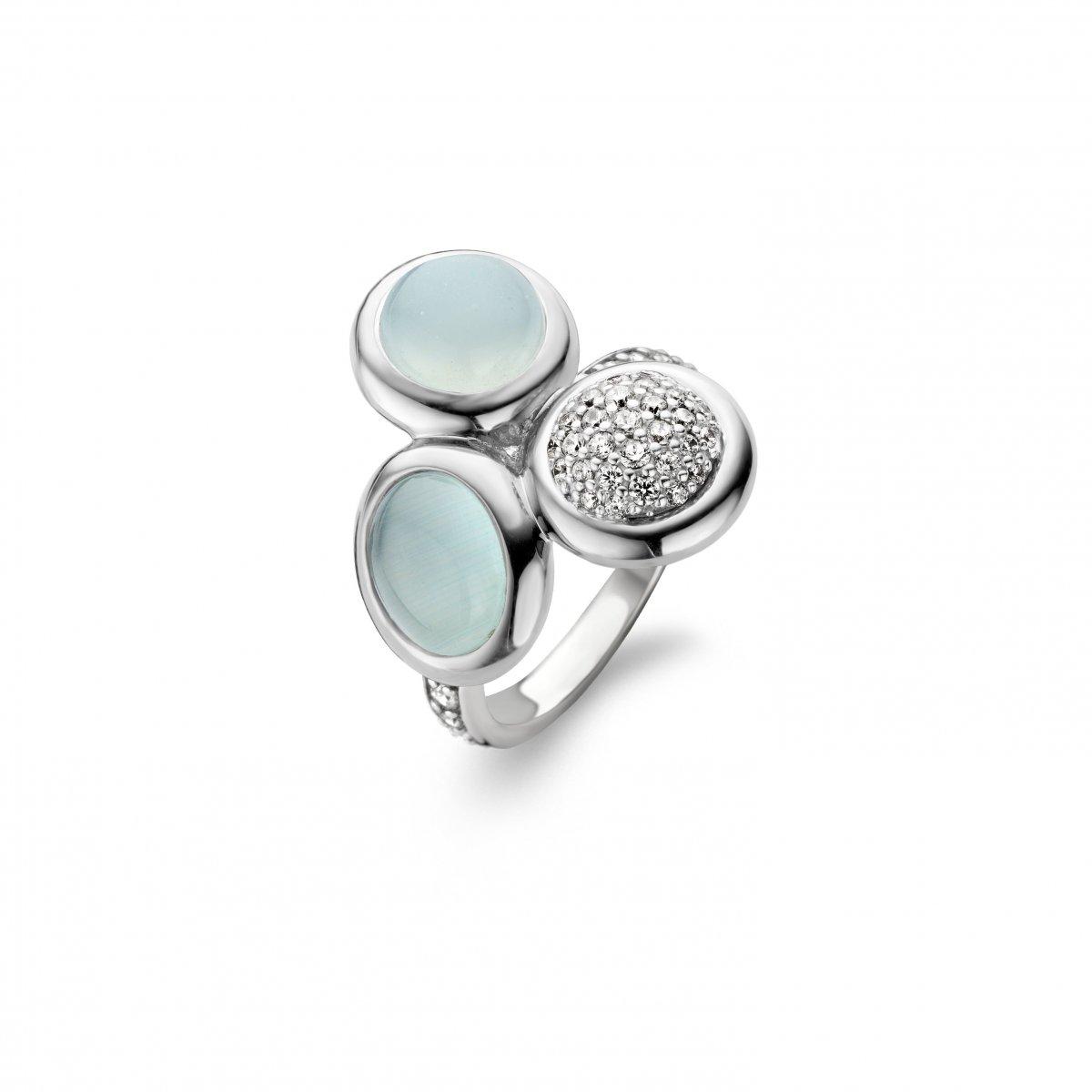 Trojfarebný prsteň TI SENTO
