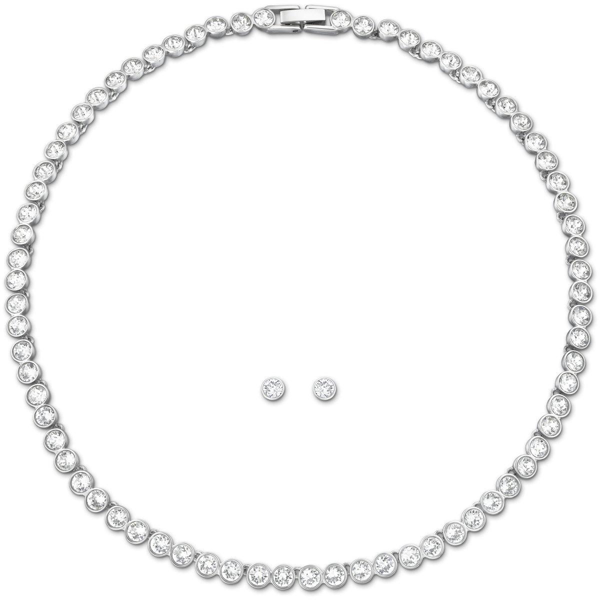 Tennis set SWAROVSKI náušnice a náhrdelník